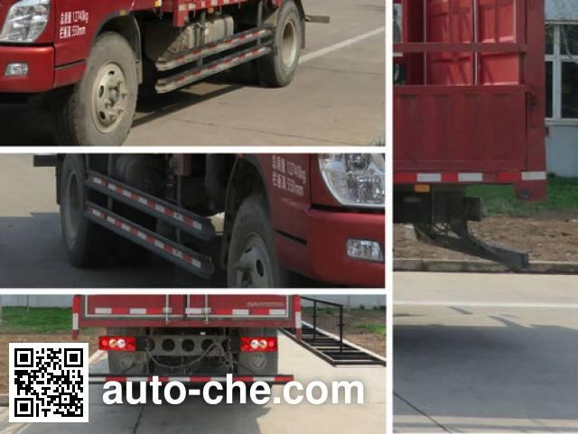 Foton BJ5139CCY-F6 stake truck
