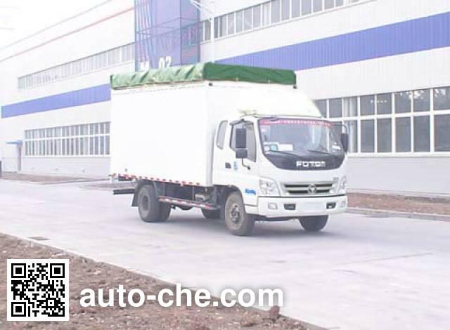 Foton BJ5141VKCFA-S2 soft top box van truck