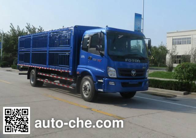 福田牌BJ5149CCQ-FA畜禽运输车