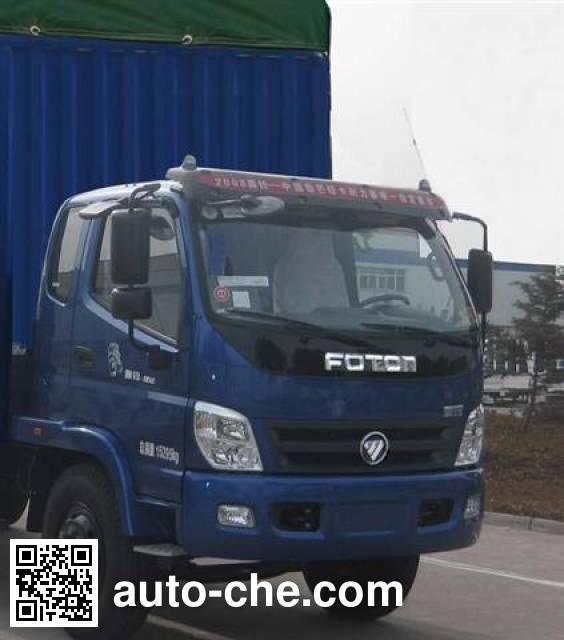 Foton BJ5159VKCFG-5 soft top box van truck