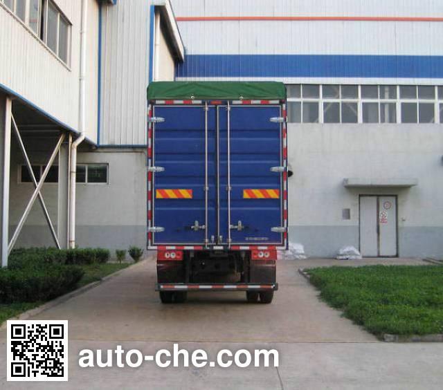 Foton BJ5159VKCFK-4 soft top box van truck