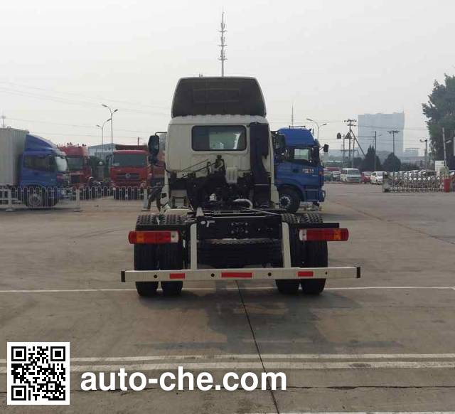 Foton Auman BJ5163GYY-AC oil tank truck chassis