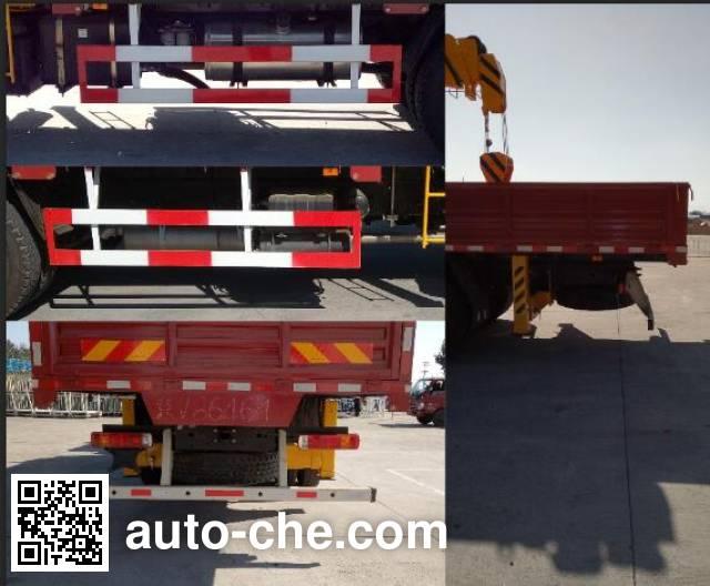 Foton Auman BJ5163JSQ-AC truck mounted loader crane