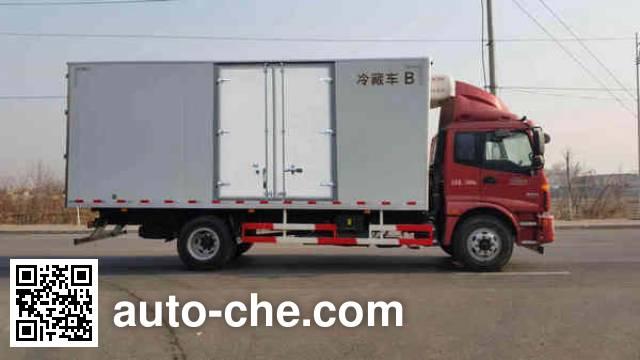 Foton Auman BJ5163XLC-XB refrigerated truck
