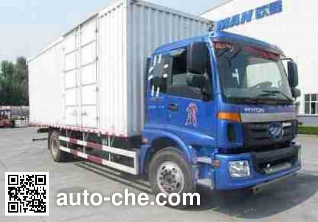 Foton Auman BJ5163XXY-AA box van truck