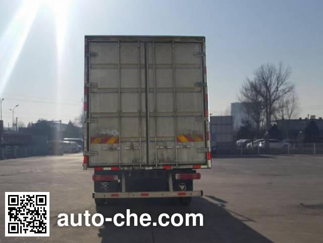 Foton Auman BJ5163XXY-AC box van truck