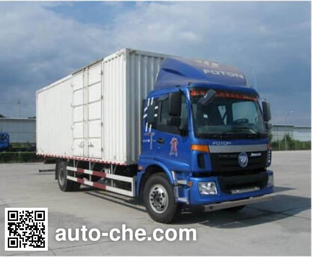 Foton Auman BJ5163XXY-XF box van truck