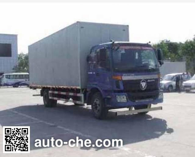 Foton Auman BJ5163XXY-XC box van truck