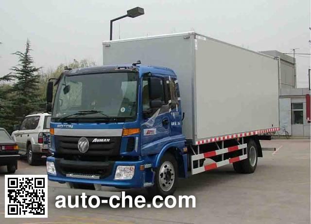 Foton Auman BJ5163XXY-XP box van truck