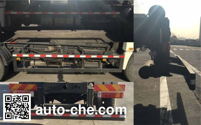 Foton Auman BJ5163ZXX-AB detachable body garbage truck
