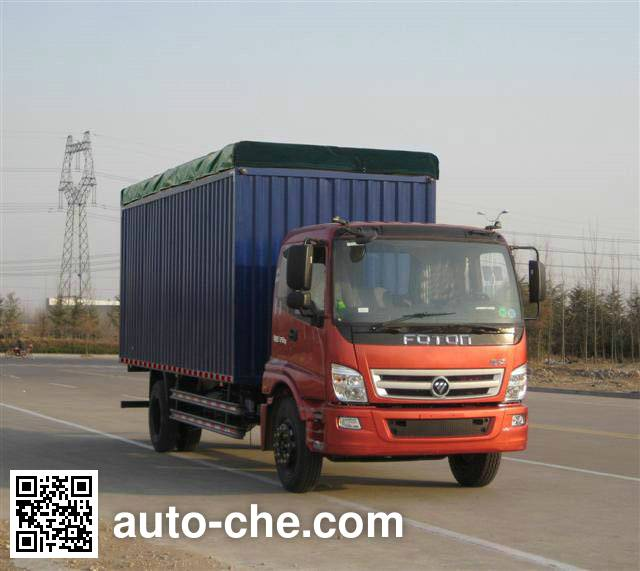 Foton BJ5169CPY-AB soft top box van truck