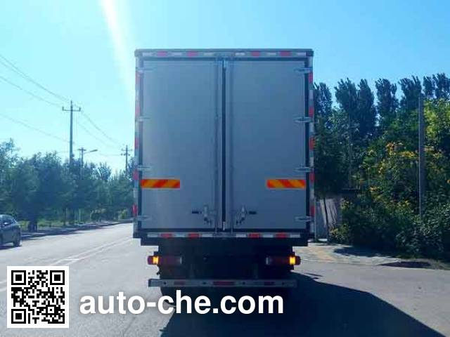 Foton Auman BJ5183XLC-AB refrigerated truck