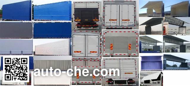 Foton Auman BJ5183XYK-AB wing van truck