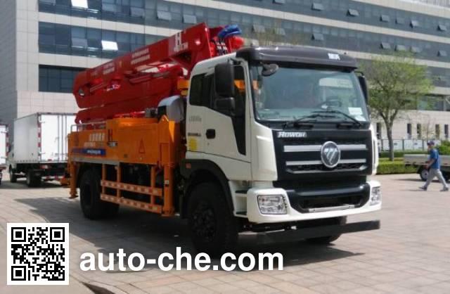 Foton BJ5185THB-FA concrete pump truck