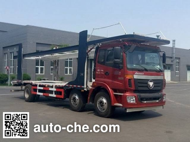Foton Auman BJ5203TCL-AA car transport truck