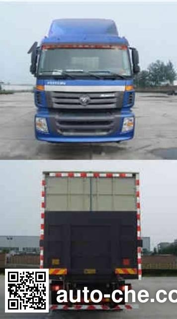 Foton Auman BJ5203XXY-2 box van truck
