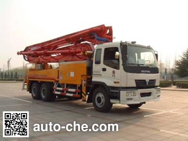 欧曼牌BJ5251THB37混凝土泵车