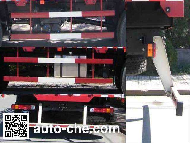 欧曼牌BJ5252CCQ-XC畜禽运输车