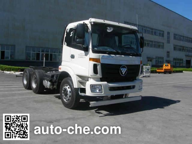 Foton Auman BJ5252GJB-XA concrete mixer truck chassis