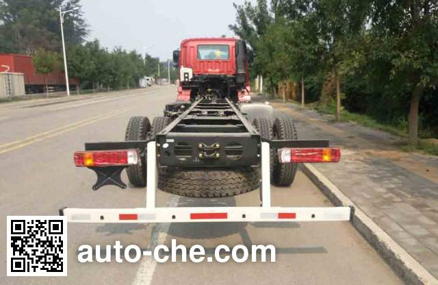 Foton Auman BJ5252JSQ-AB truck mounted loader crane chassis