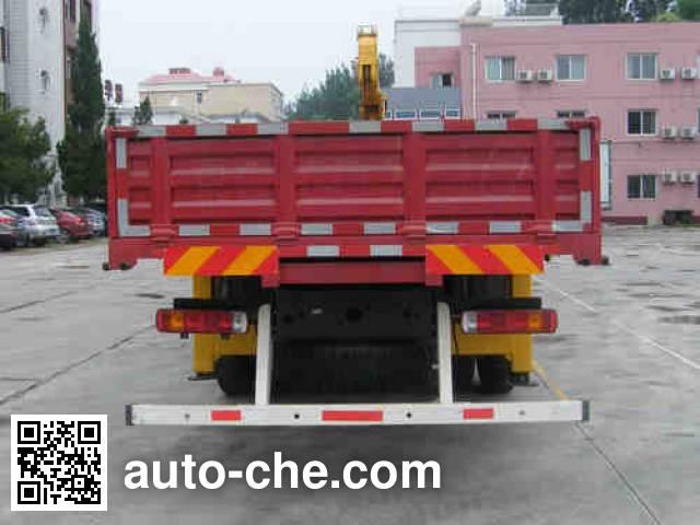 Foton Auman BJ5252JSQ-XA truck mounted loader crane