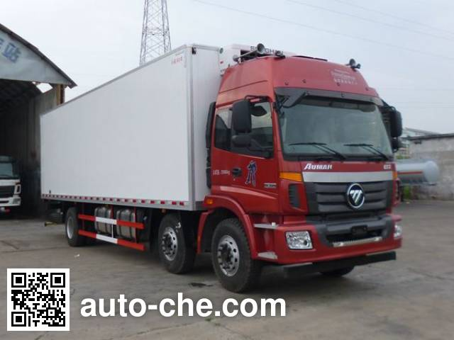 Foton Auman BJ5252XLC-AB refrigerated truck