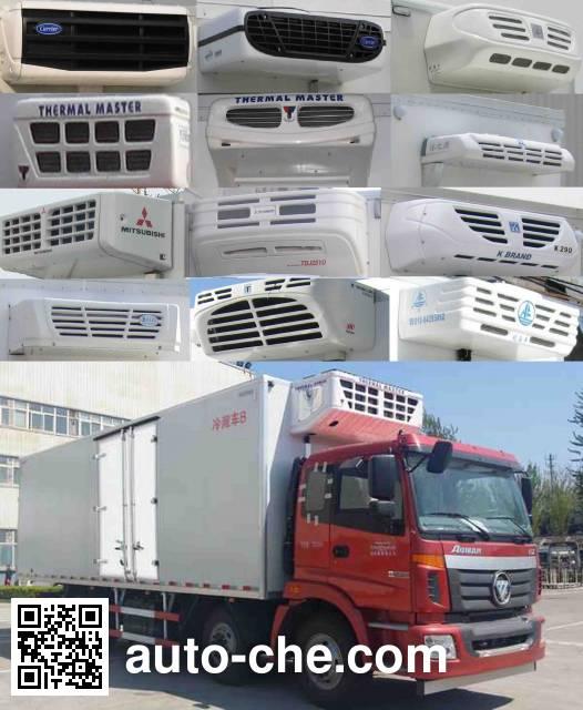 Foton Auman BJ5252XLC-XC refrigerated truck