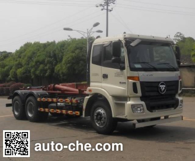 Foton BJ5252ZXXE5-H1 detachable body garbage truck