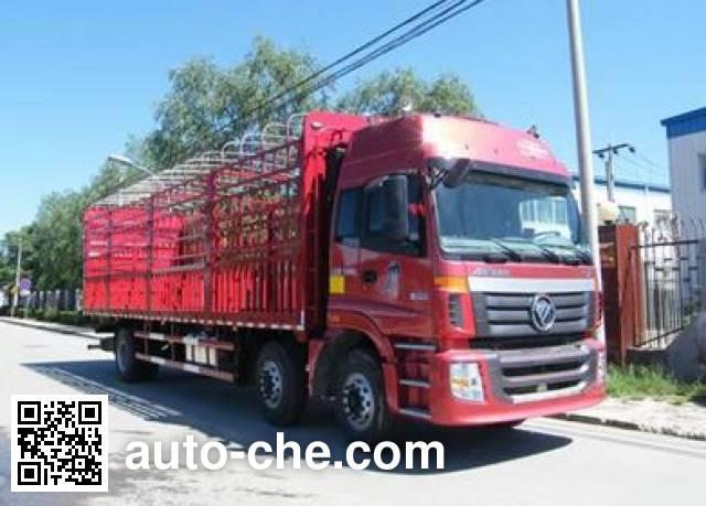 Foton Auman BJ5253CCQ-AA livestock transport truck