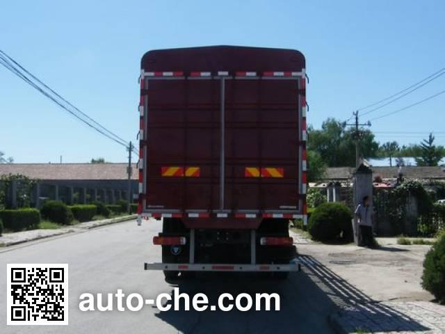 Foton Auman BJ5253CCQ-XA livestock transport truck