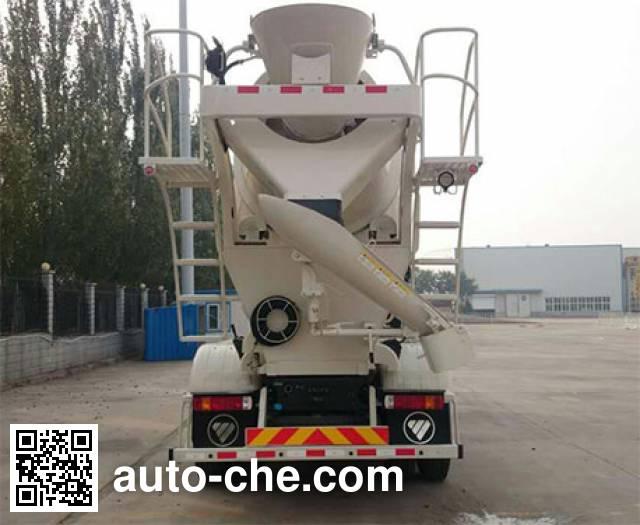 欧曼牌BJ5253GJB-AA混凝土搅拌运输车