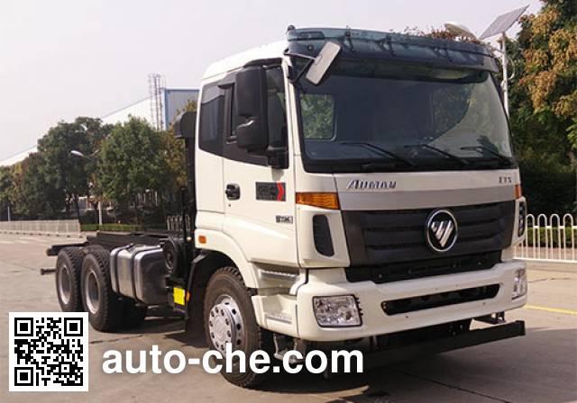 Foton Auman BJ5253GJB-AD concrete mixer truck chassis