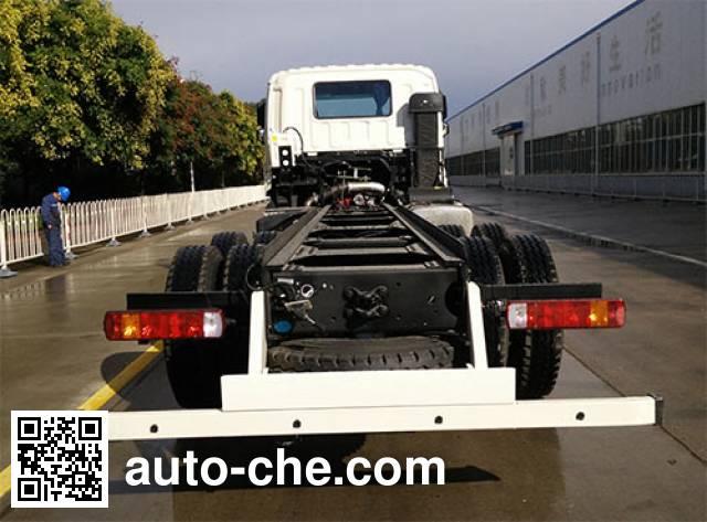 Foton Auman BJ5253GJB-AB concrete mixer truck chassis