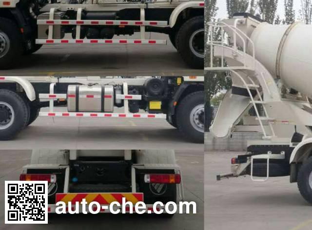 欧曼牌BJ5253GJB-AB混凝土搅拌运输车