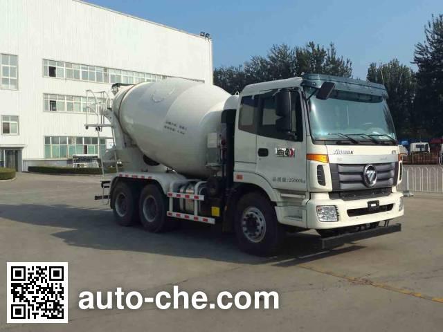 欧曼牌BJ5253GJB-AD混凝土搅拌运输车