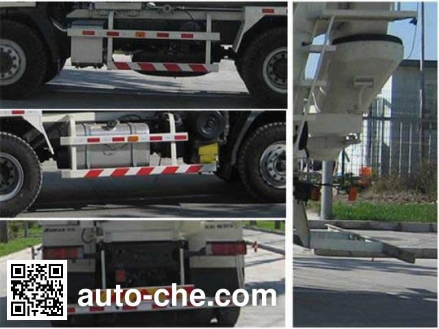 欧曼牌BJ5253GJB-XB混凝土搅拌运输车