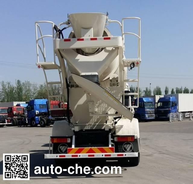 欧曼牌BJ5253GJB-XH混凝土搅拌运输车