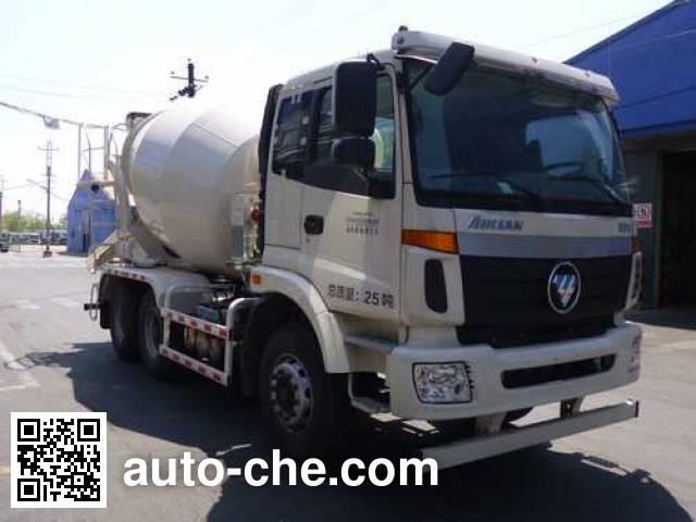 欧曼牌BJ5253GJB-XK混凝土搅拌运输车