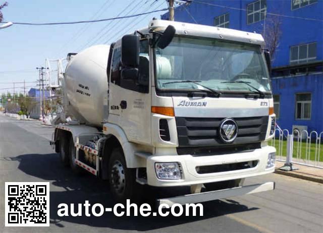 欧曼牌BJ5253GJB-XL混凝土搅拌运输车