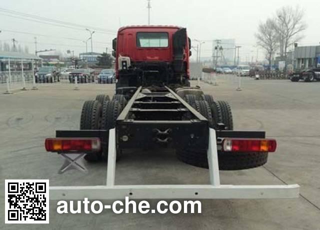 Foton Auman BJ5253GYY-AA oil tank truck chassis