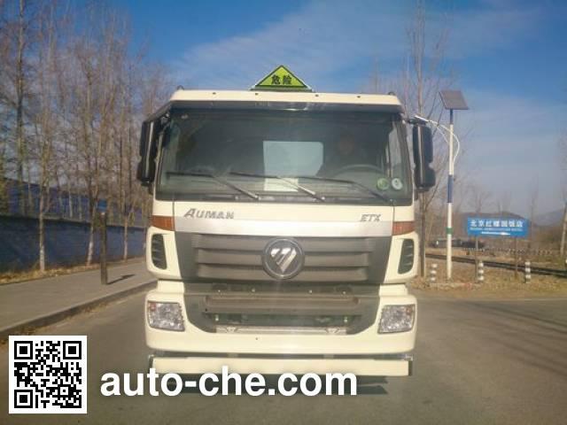 Foton Auman BJ5253GYY-XE oil tank truck chassis