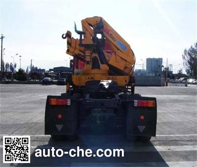 Foton Auman BJ5253SCD-2 tractor unit mounted loader crane