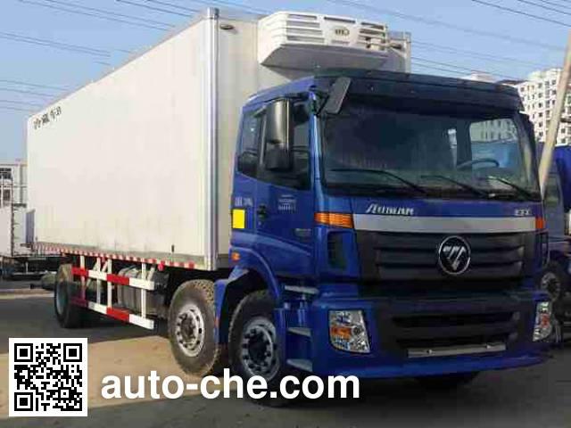Foton Auman BJ5253XLC-AA refrigerated truck