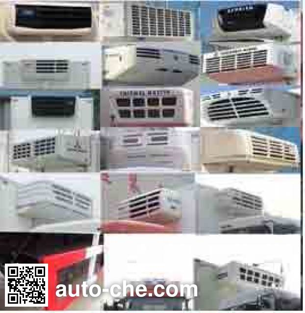 Foton Auman BJ5313XLC-XC refrigerated truck