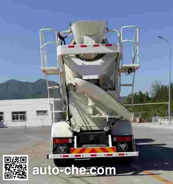 欧曼牌BJ5257GJB-XA混凝土搅拌运输车