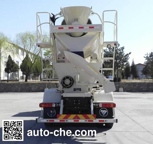 欧曼牌BJ5259GJB-AA混凝土搅拌运输车