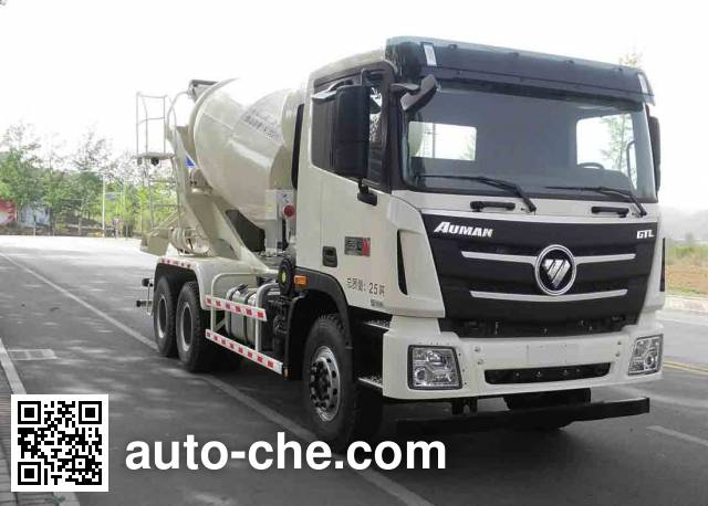 欧曼牌BJ5259GJB-AB混凝土搅拌运输车