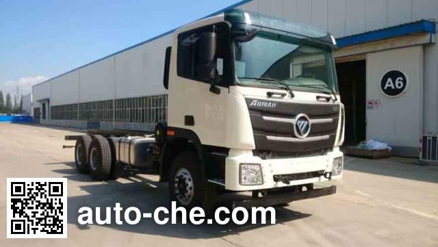 Foton Auman BJ5259GJB-AD concrete mixer truck chassis