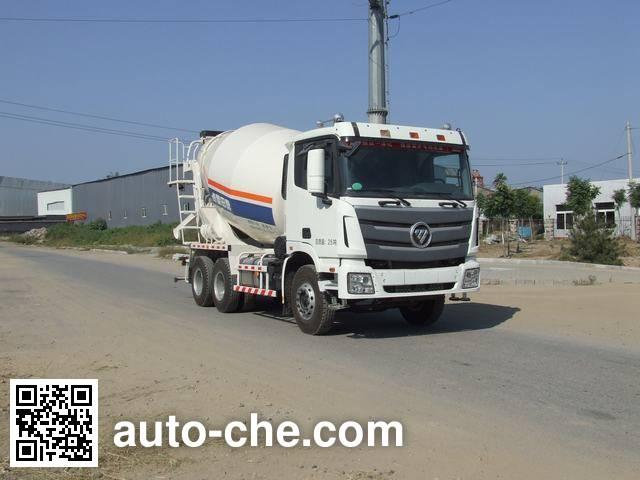 福田牌BJ5259GJB-XA混凝土搅拌运输车