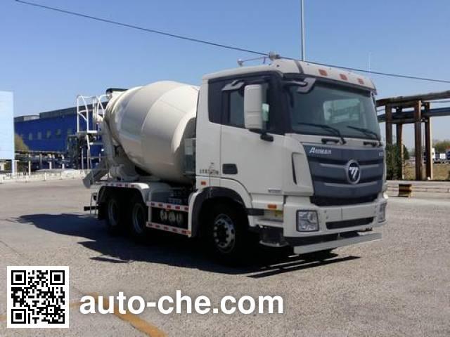 欧曼牌BJ5259GJB-XB混凝土搅拌运输车